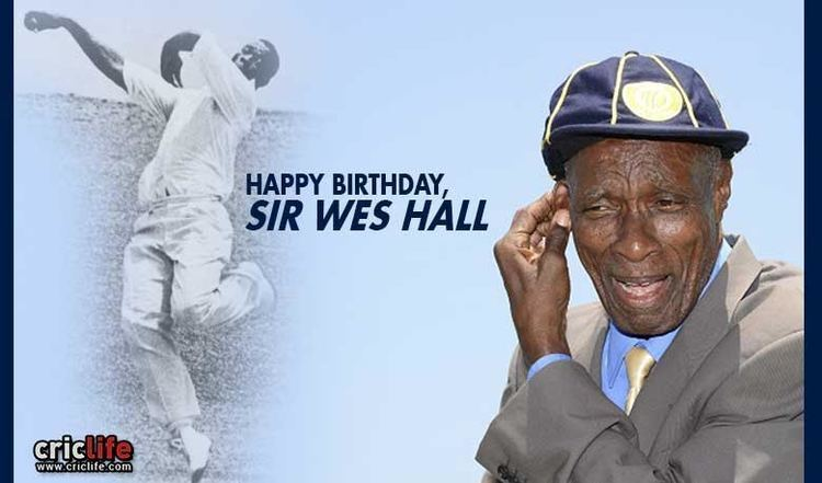 Wes Hall Sir Wes Hall Life and Times Cricket Country