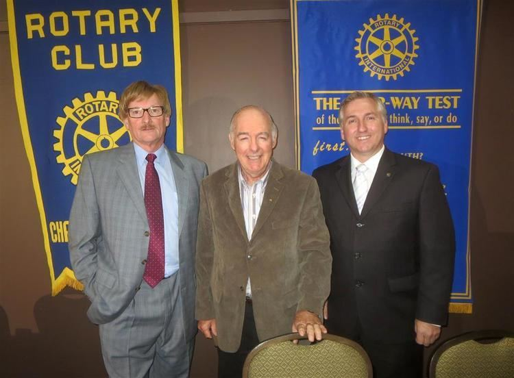 Wes MacAleer Our Own Wes MacAleer Addresses our Club Rotary club of Charlottetown