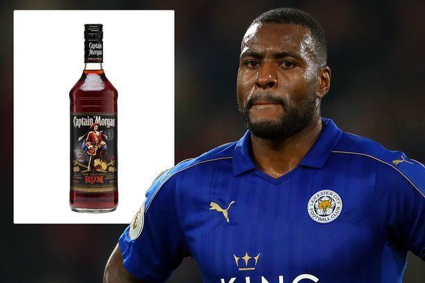 Wes Morgan Leicester skipper Wes Morgan signs agreement with Captain Morgan rum