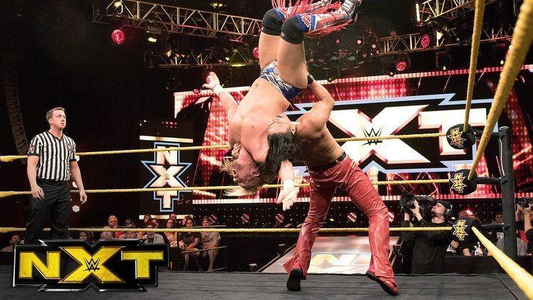 Wesley Blake Shinsuke Nakamura vs Wesley Blake WWE NXT July 27 2016 YouTube