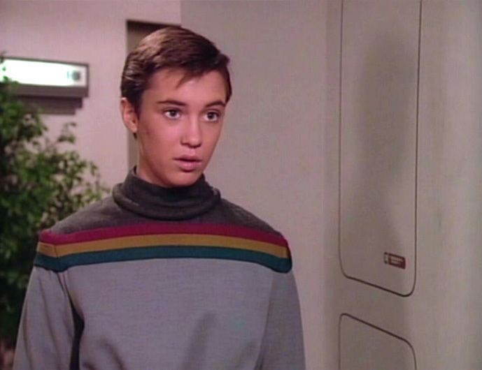 Wesley Crusher Wesley Crusher TrekCore Star Trek Theme Galleries