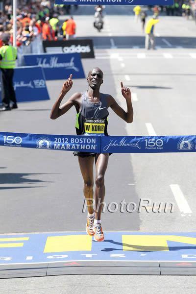 Wesley Korir Wesley Korir extends his relationship with Nike release