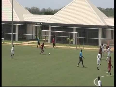 West African Football Academy United Through Sport Ghana v Feyenoord West African Football