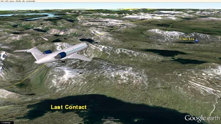 West Air Sweden Flight 294 Flight SWN294 Reg PT294 Crash in Sweden Google Earth Map YouTube