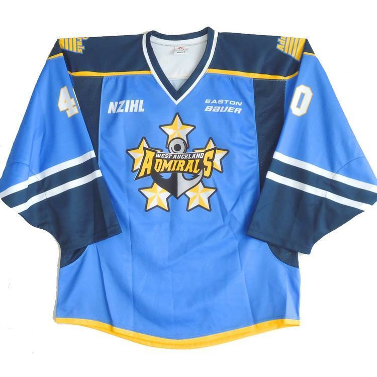 West Auckland Admirals Products West Auckland Admirals New Zealand Ice Hockey League