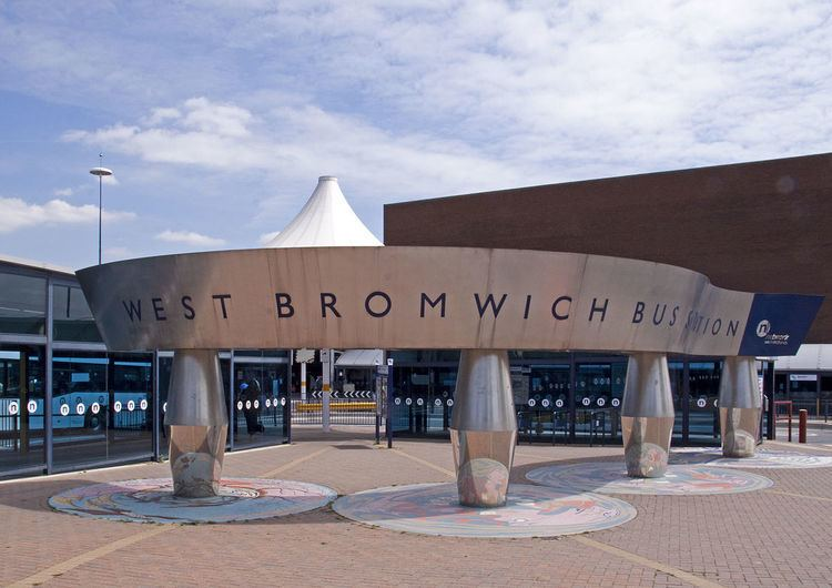 West Bromwich bus station