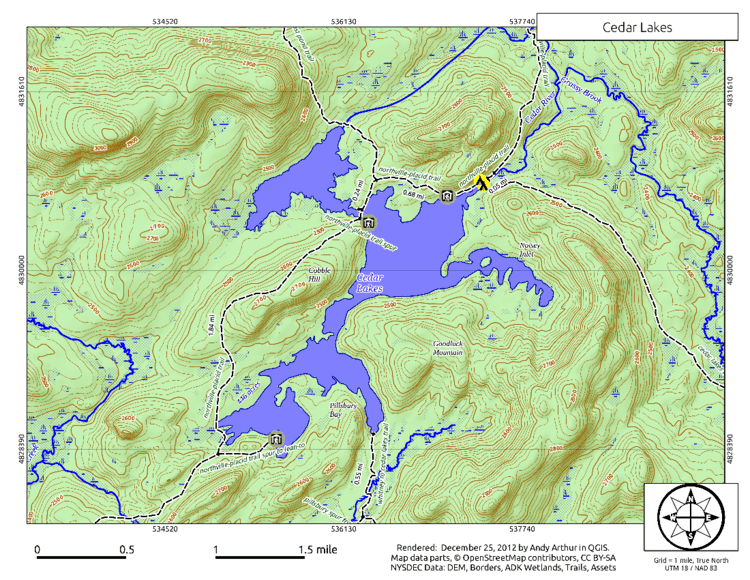 West Canada Lake Wilderness Area Search Results for Map Andy Arthurorg