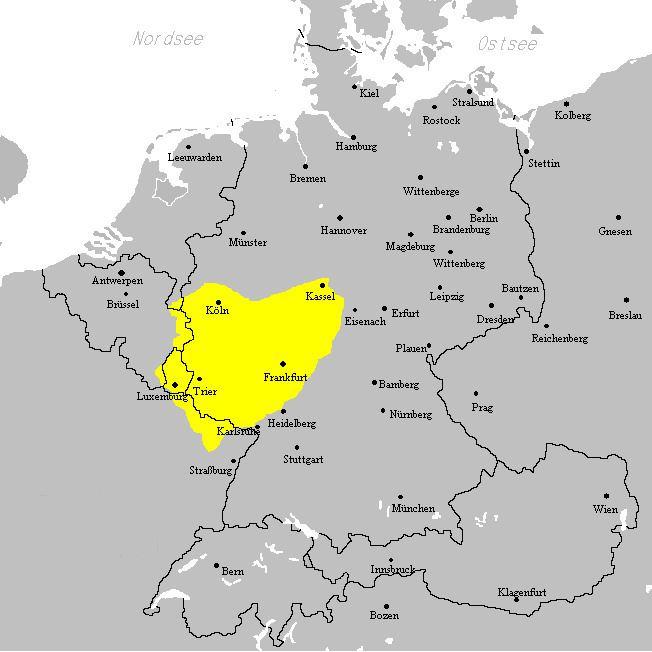 West Central German