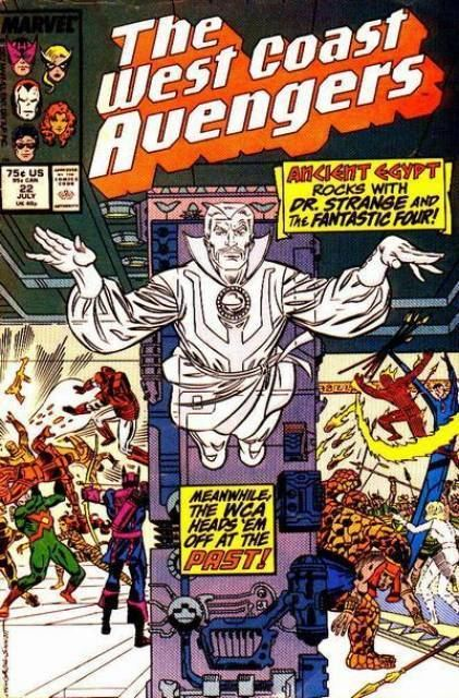 West Coast Avengers West Coast Avengers Volume Comic Vine