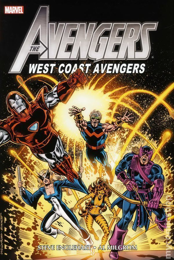 West Coast Avengers Avengers West Coast Avengers Omnibus HC 2013 Marvel comic books