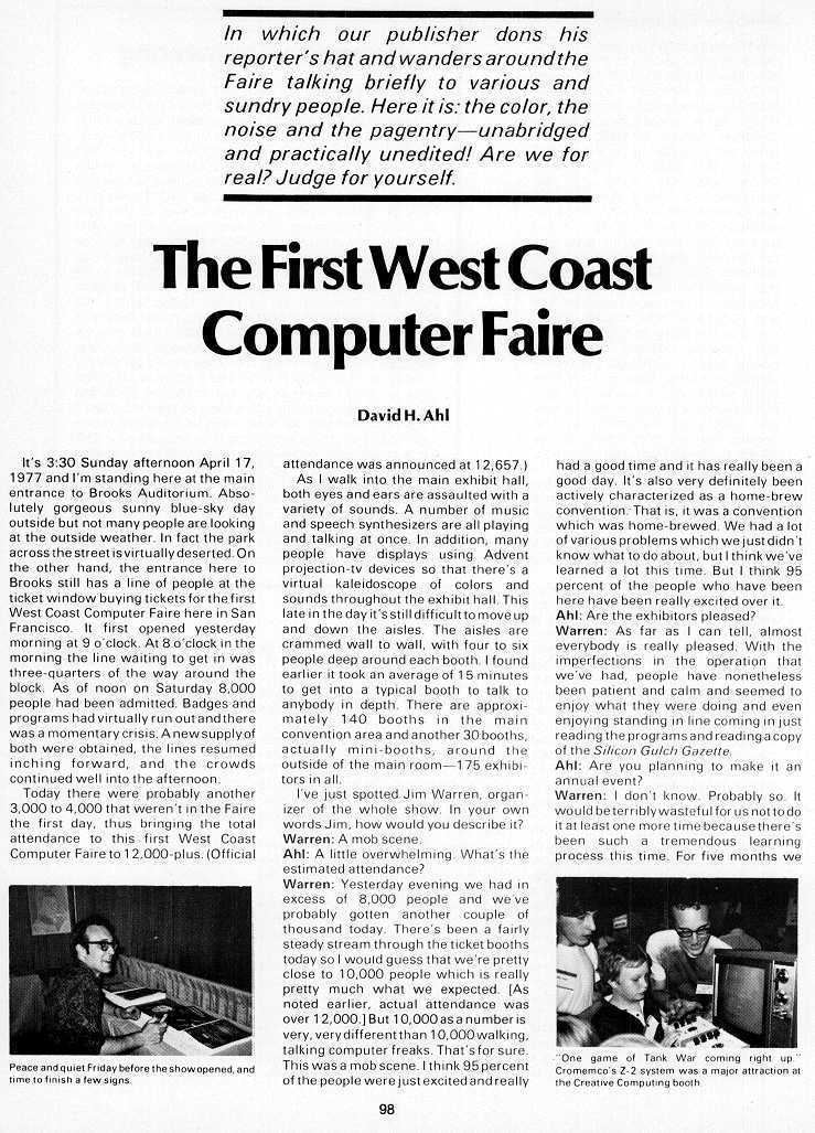 West Coast Computer Faire wwwatariarchivesorgbcc3pagespage98jpg