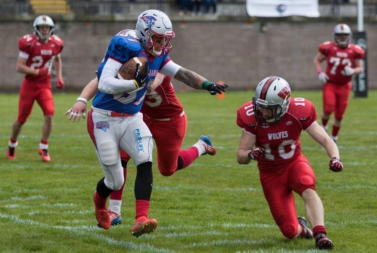 West Coast Trojans Edinburgh Wolves versus West Coast Trojans