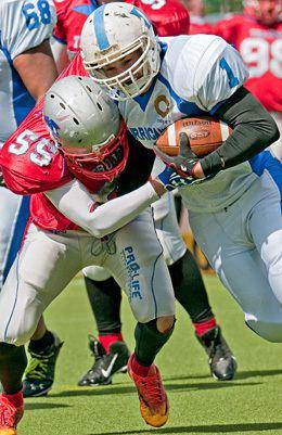 West Coast Trojans West Coast Trojans v Dundee Hurricanes Duncolm Sports Photography