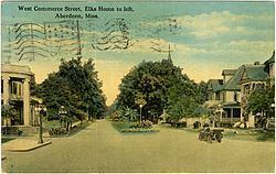 West Commerce Street Historic District (Aberdeen, Mississippi) httpsuploadwikimediaorgwikipediacommonsthu