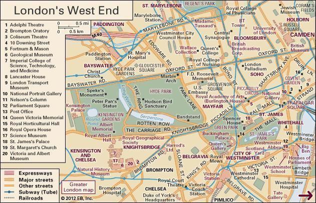 West End of London West End area London United Kingdom Britannicacom