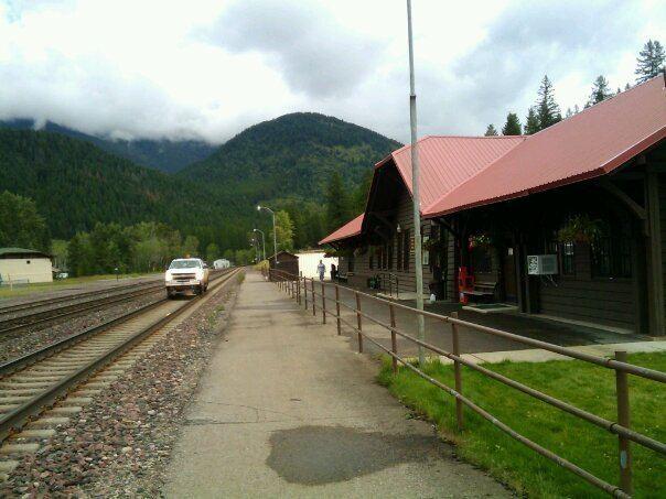 West Glacier station