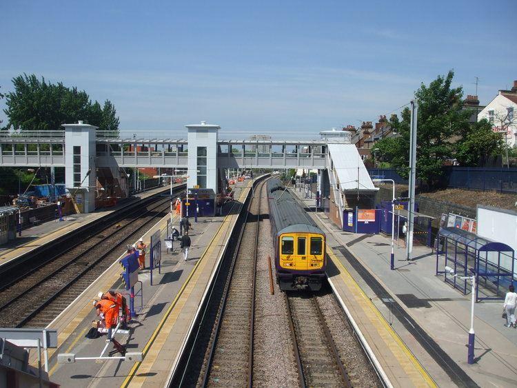 West Hampstead Thameslink railway station FileUnit 319004 at West Hampstead Thameslinkjpg Wikimedia Commons