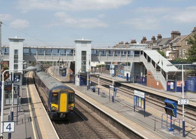 West Hampstead Thameslink railway station Oyster cards come on sale at West Hampstead Thameslink rail station