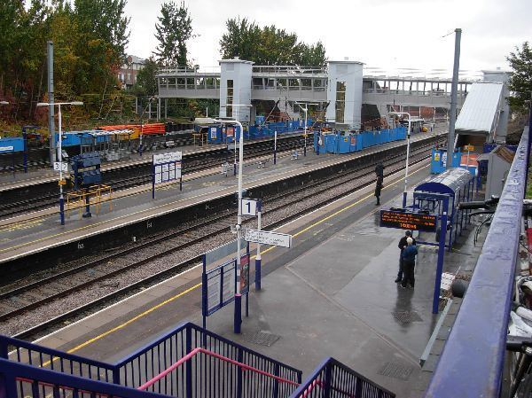 West Hampstead Thameslink railway station Walk 1 St Pancras walk to West Hampstead Thameslink