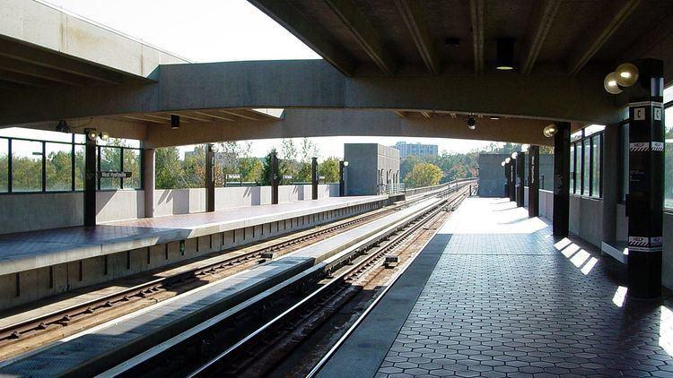 West Hyattsville station