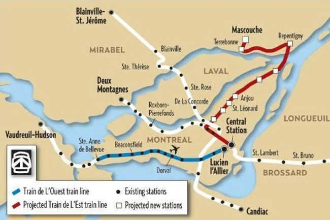 West Island Montreal39s West Island To Downtown To Get Many More ATM Trains MTL