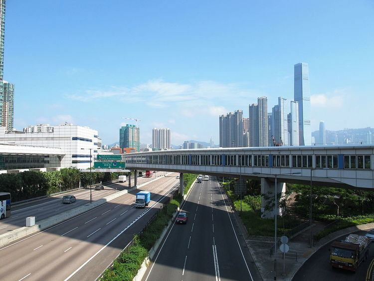 West Kowloon Highway