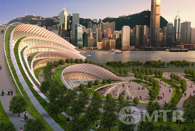 West Kowloon Terminus MTR Express Rail Link