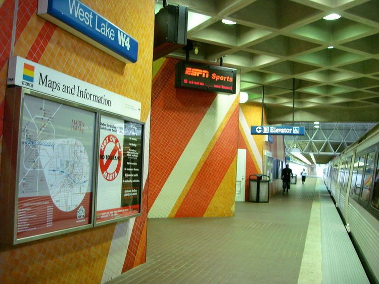 West Lake station (MARTA)
