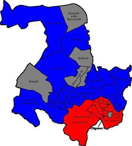 West Lancashire District Council election, 2007