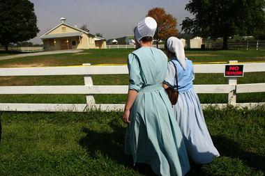 West Nickel Mines School shooting Amish near Nickel Mines school shooting write letters to Sandy Hook