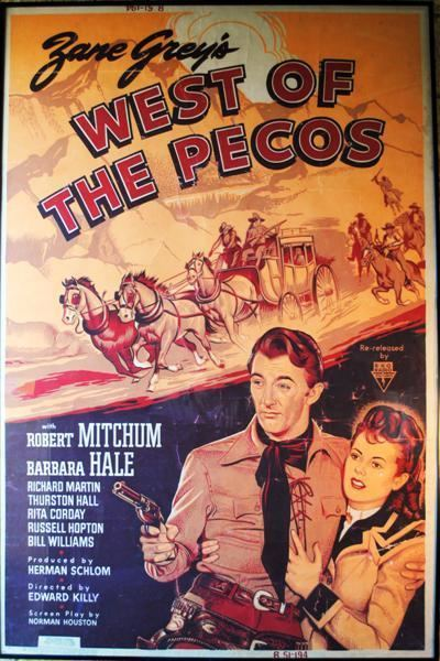 Lauras Miscellaneous Musings Tonights Movie West of the Pecos 1945