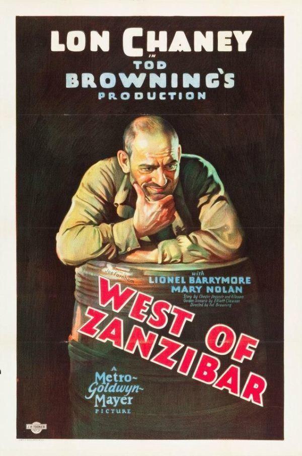 West of Zanzibar 1928 She Blogged By Night