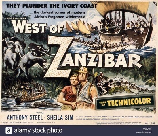 West of Zanzibar (1954 film) West Of Zanzibar 1954 Free Download Cinema of the World