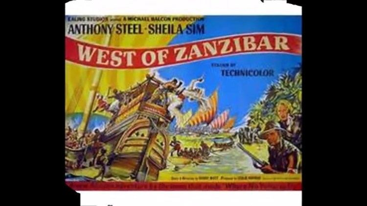 West of Zanzibar (1954 film) West Of Zanzibar Antony Steel 1954 YouTube