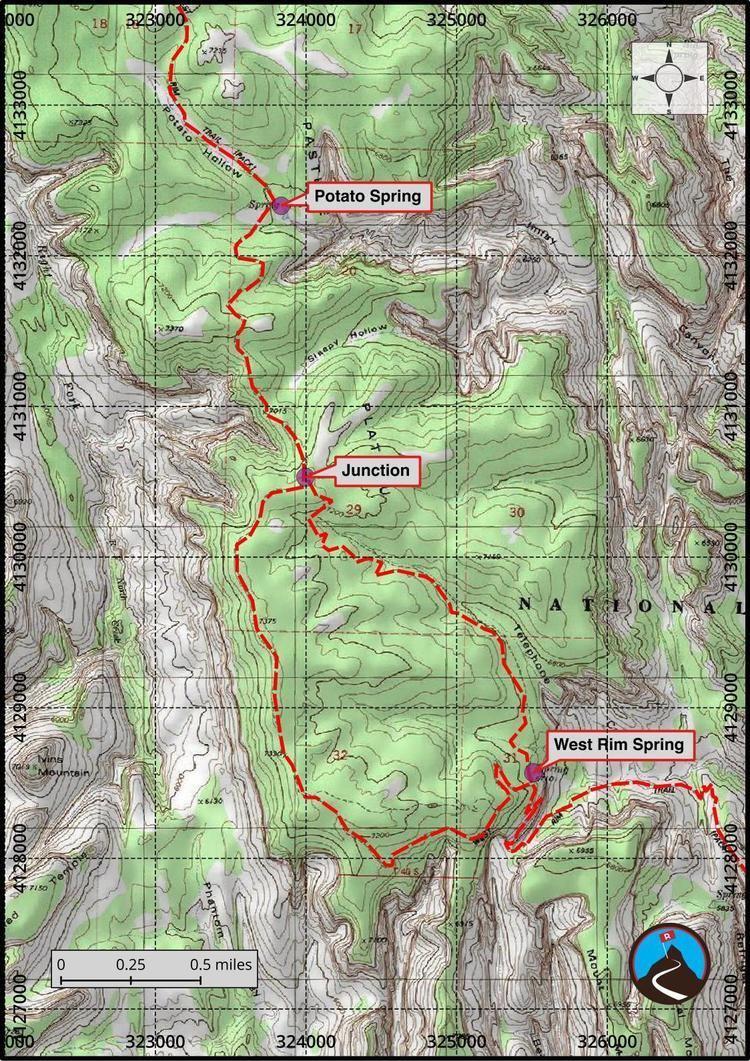 West Rim Trail Hiking West Rim Trail Zion Road Trip Ryan