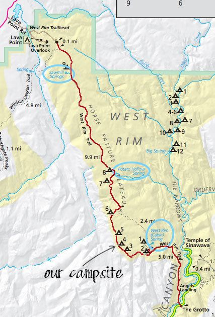 West Rim Trail West Rim Trail Backpacking Guide Zion National Park Bearfoot Theory
