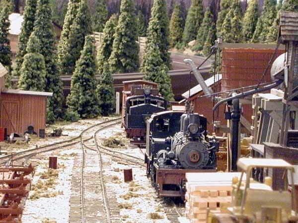 West Side Lumber Company railway Bob Hogan39s Layout