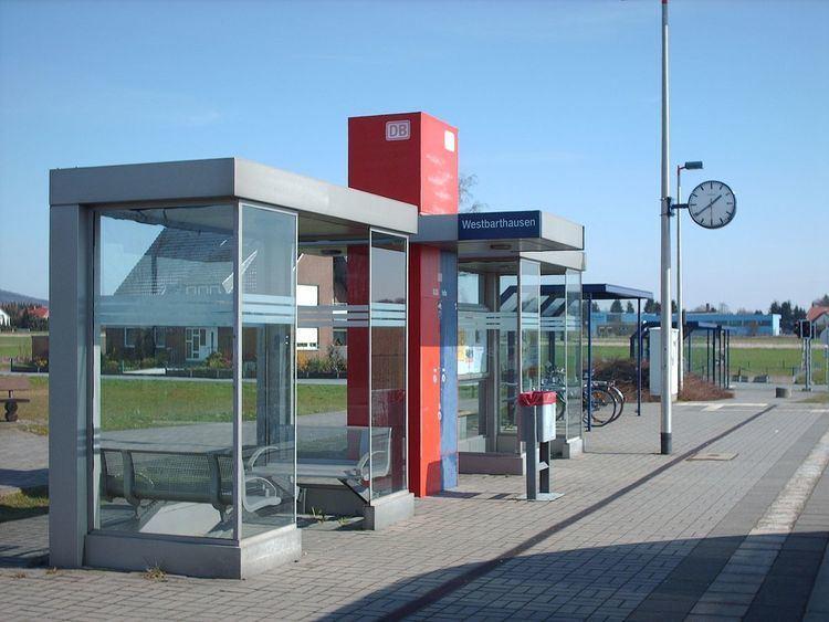 Westbarthausen station