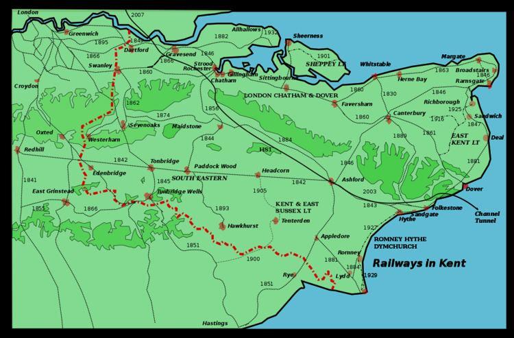 Westerham Valley branch line