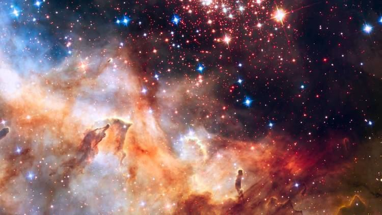 Westerlund 2 Pan across Westerlund 2 YouTube