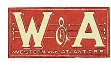 Western and Atlantic Railroad wwwrailgacomwatljpg