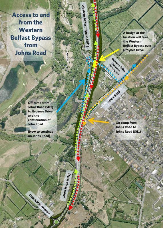 Western Belfast Bypass Western Belfast Bypass NZ Transport Agency