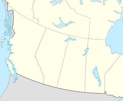 Western Canada TemplateLocation map Western Canada Wikipedia