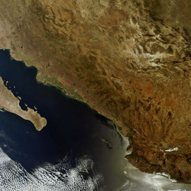 Western Coastal Plains Earth Snapshot Western Mexico from Coastal Plains to the Sierra
