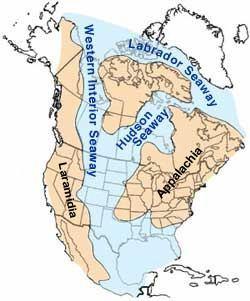 Western Interior Seaway Western Interior Seaway Wikipedia
