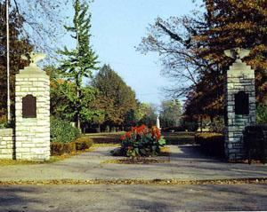 Western Military Academy Gates of Western Military Academy on Seminary in Upper Alton
