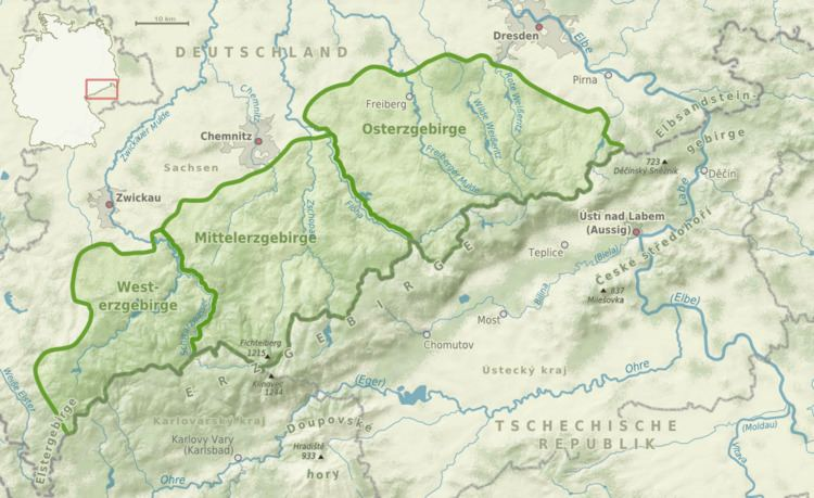 Western Ore Mountains