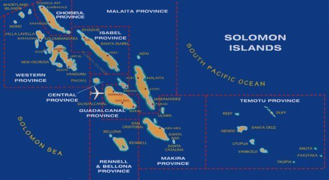 Western Province (Solomon Islands) in the past, History of Western Province (Solomon Islands)