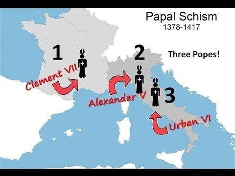 Western Schism WN papal schism