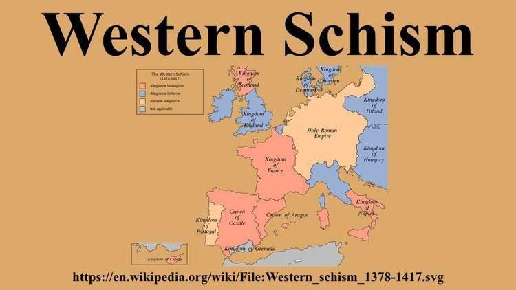 Western Schism Western Schism YouTube
